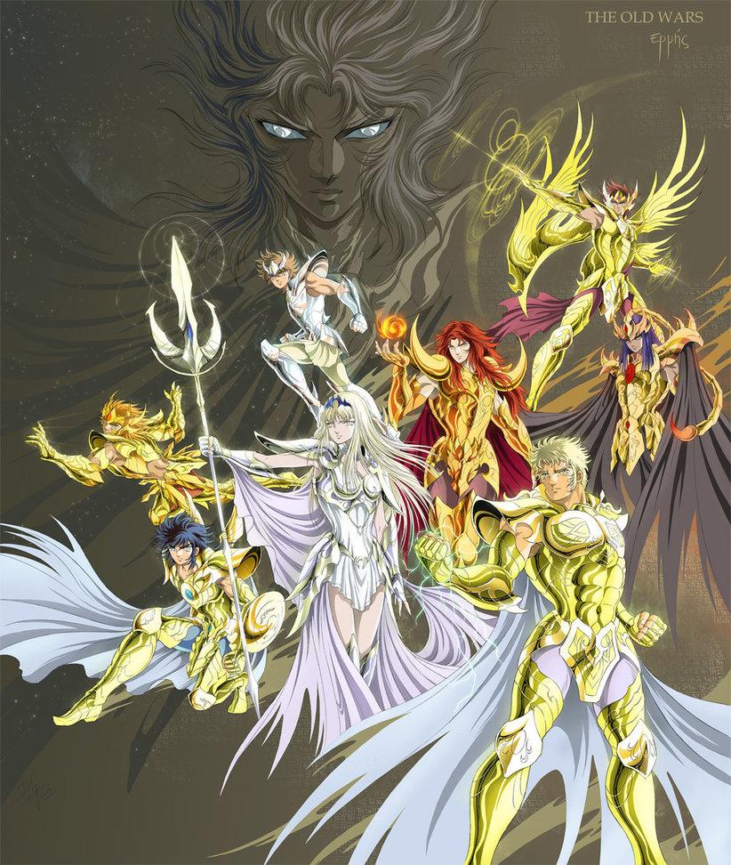 Fanfic   First Gold Saints